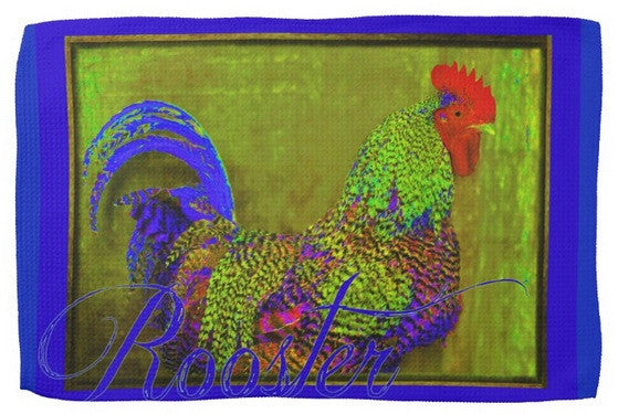 Bert The Rooster Kitchen Towel