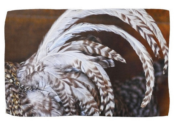 Rooster's Tail Kitchen Towel
