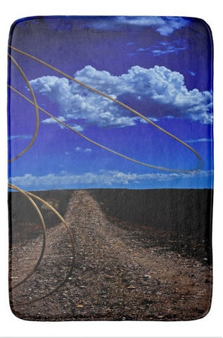 Rope the Road Ahead Bath Mat