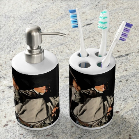 Ropin' Smoke Bathroom Set