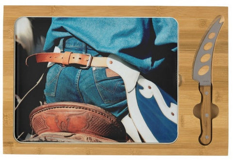 Rugged Wrangler Cheese Board