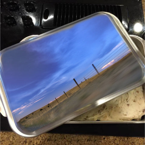 Running the Fenceline Cake Pan with Lid