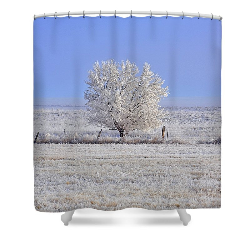 Russian Olive Shower Curtain