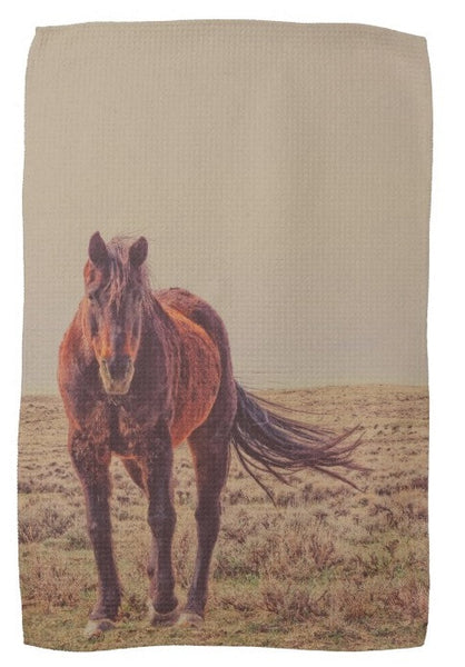 Rust And Prairie Wise Kitchen Towel