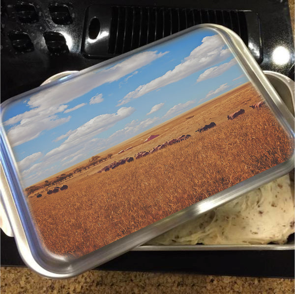 Sarah's View Cake Pan with Lid