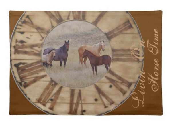 Horse Western and Rustic Kitchen Towel