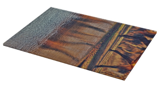 Running Reflection Cutting Board