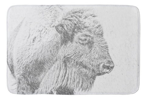 Buffalo Blizzard Bath Mat