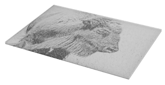 Buffalo Blizzard Cutting Board