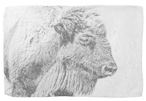 Buffalo Blizzard Kitchen Towel