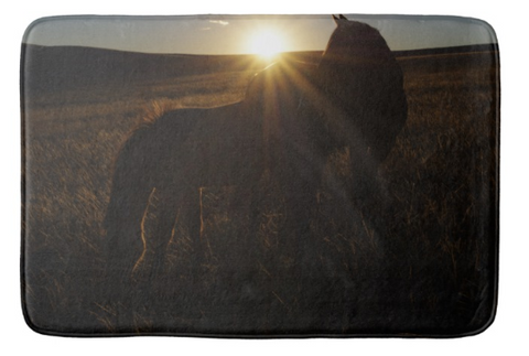 Sunset Love Bath Mat
