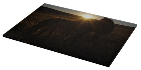 Sunset Love Cutting Board