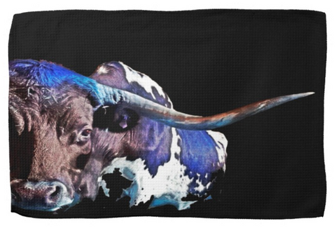 Cattle, Bulls and Livestock Kitchen Towels