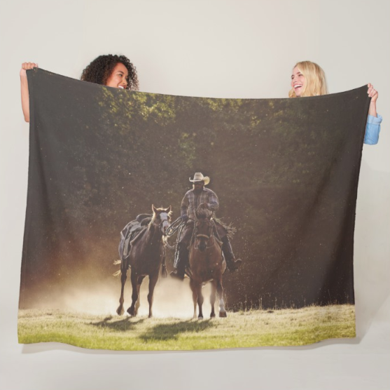 A Dollar in the Dust Fleece Blanket