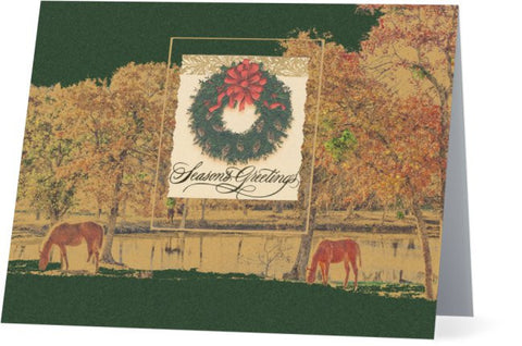 Seasons Greetings Christmas Card (25 pack)