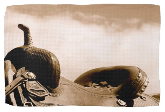Sepia Saddle Kitchen Towel