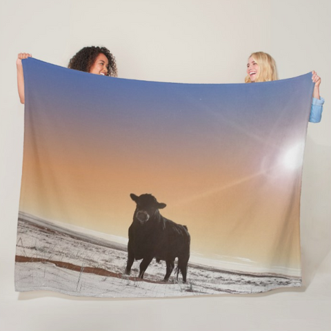 Silent Tenacity Fleece Blanket