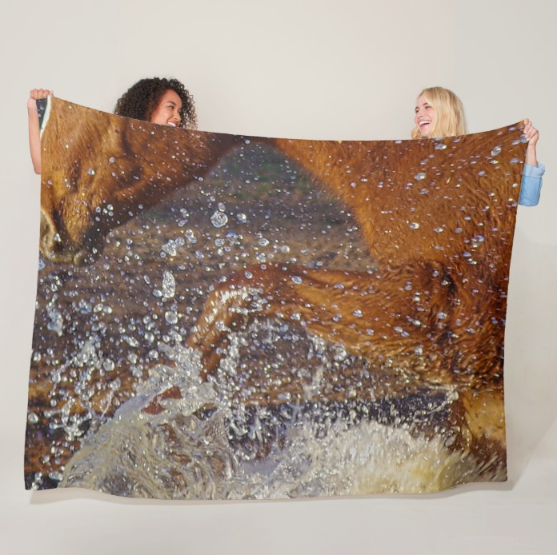 Splash Fleece Blanket