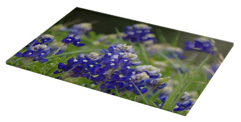 Springtime in Blue Cutting Board