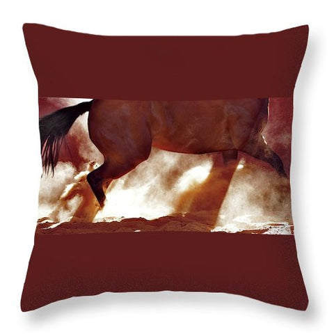 Stop and Turn Throw Pillow