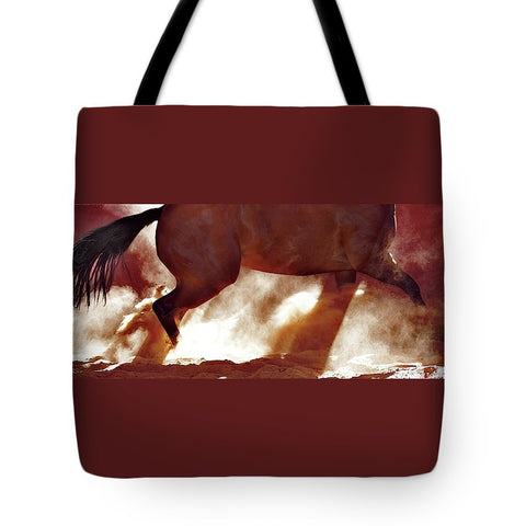 Stop and Turn Tote bag