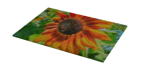 Sun Shower Sunflower Cutting Board
