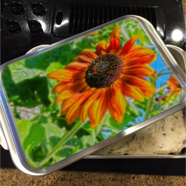 Sun Shower Sunflower Cake Pan with Lid