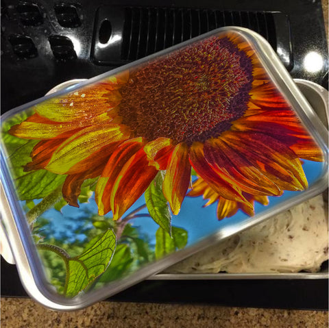 Sunflower Bonnet Cake Pan with Lid