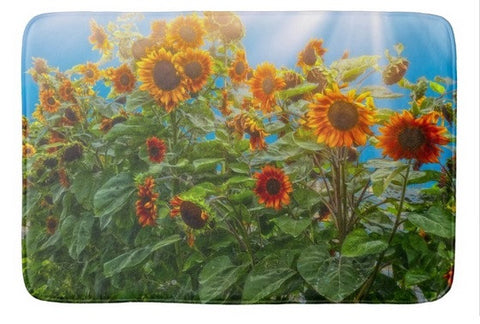 Sunflower Pack Bath Mat