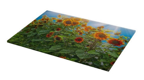 Sunflower Pack Cutting Board