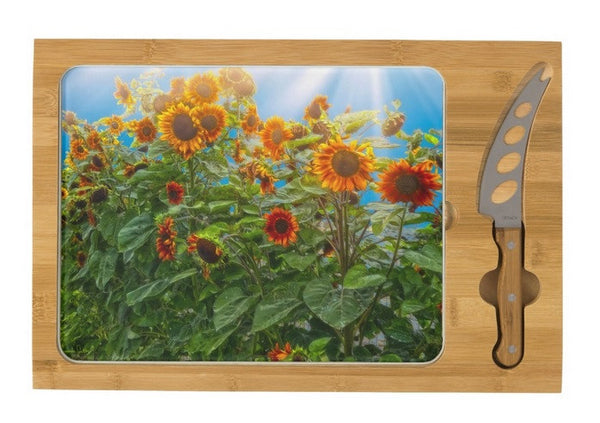 Sunflower Pack Cheese Board
