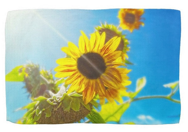 Sunflower and Sunlight Kitchen Towel
