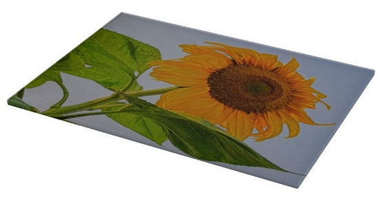 Sunflower Wild Cutting Board