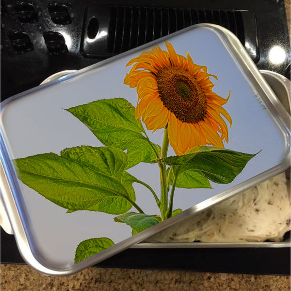 Sunflower Wild Cake Pan with Lid