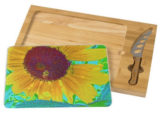 The Sunflower and The Bee Cheese Board