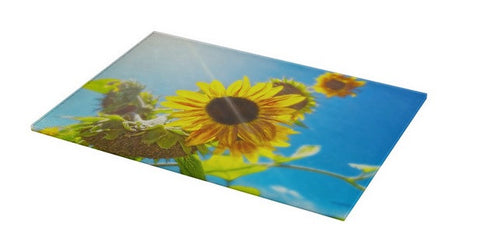 Sunflower and Sunlight Cutting Board