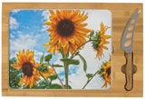 Sunflowers and Blue Cheese Board