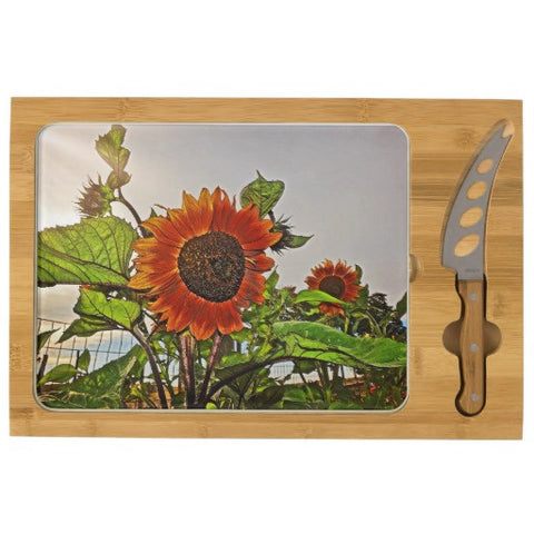 Sunflowers and Storm Cheese Board