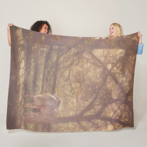 Sunlight's Serenity Fleece Blanket