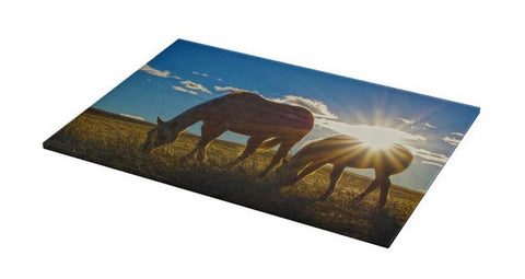 Sunrise Splendor Cutting Board