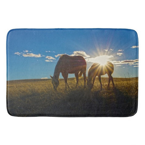 Sunrise Splendor Bath Mat