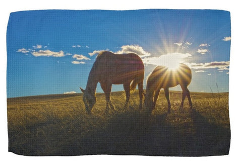 Sunrise Splendor Kitchen Towel