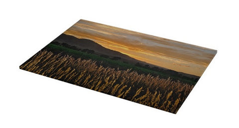 Western Skies at Sunset Cutting Board