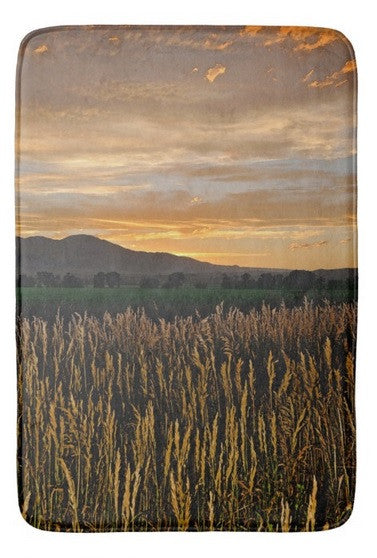 Sunset Over BearTooth Bath Mat