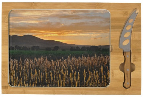 Western Skies at Sunset Cheese Board