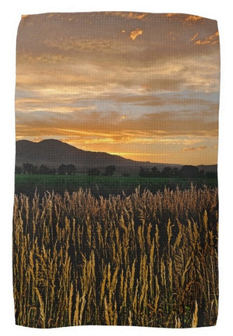Western Skies at Sunset Kitchen Towel