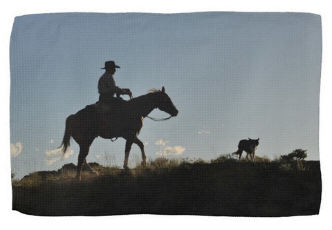 Sunset Ride Kitchen Towel