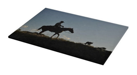 Sunset Ride Cutting Board