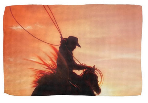 Sunset Roper Kitchen Towel