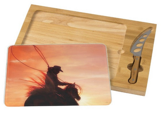 Sunset Roper Cheese Board